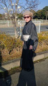 女将の着物コーディネイト写真